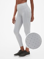 Gap GapFit High Rise Perforated Pocket 7/8 Leggings in Sculpt Revolution