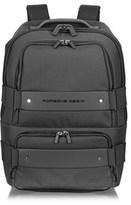 Porsche Design Men's Grey Fabric Backpack.