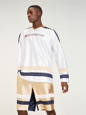 Tommy Hilfiger Colour-Blocked Long Sleeve T-Shirt