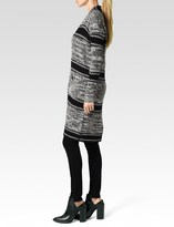 Paige Joni Cardigan - Midnight White Marl