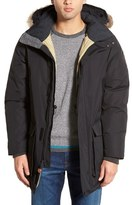 Woolrich Patrol Hooded Down Parka with Genuine Coyote Fur Trim