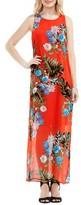 Vince Camuto Petite Women's Havana Tropical Maxi Dress