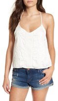 Amuse Society Women's 'Cadence' Embroidered Tank