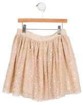 Stella McCartney Girls' Tulle Metallic-Accented Skirt w/ Tags