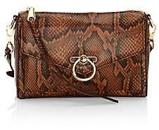 Rebecca Minkoff Women's Jean Mac Snakeskin-Embossed Leather Crossbody Bag