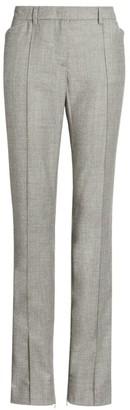 Fabiana Filippi Slim Leg Wool-Blend Ankle Zip Pants