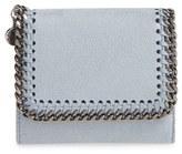 Stella McCartney Women's 'Small Falabella' Faux Leather French Wallet - Black