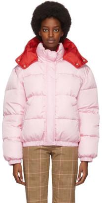 MSGM Pink Down Short Jacket