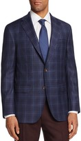 Jack Victor Plaid Classic Fit Sport Coat