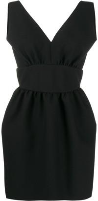 MSGM low-back dress