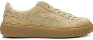 Puma Platform Exotic-Skin sneakers