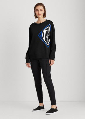 Ralph Lauren French Terry Graphic Top