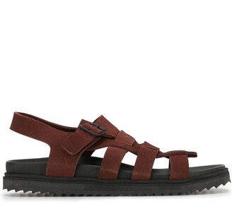 James Perse Lattice-Strap Sandals