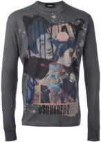 DSQUARED2 geisha design T-shirt - men - Cotton - M