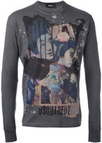 DSQUARED2 geisha design T-shirt