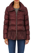 Moncler Women's Anet Peplum Jacket-DARK PURPLE