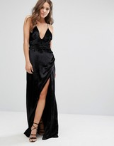 Velvet maxi dress uk