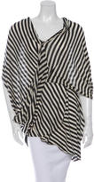 Yigal Azrouel Oversize Stripe Top