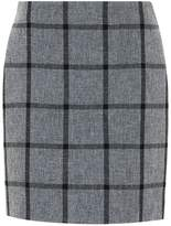 Hallhuber Grid Check Mini Skirt