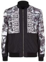 Versace Collection Half Baroque Bomber Jacket