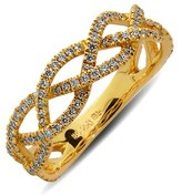 Nordstrom Bony Levy Braided Diamond Ring (Limited Edition Exclusive)