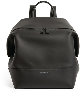 Bottega Veneta Large Matte Leather Backpack
