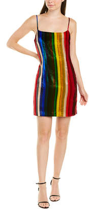 Milly Strappy Silk-Blend Slip Dress