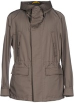 Canali Overcoats - Item 41732065