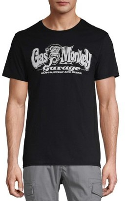 N. Men's Gas Monkey Garage Blood Sweat 'N Beers Graphic T-Shirt