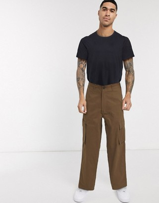 Mossimo Relaxed Straight cargo pant in brown