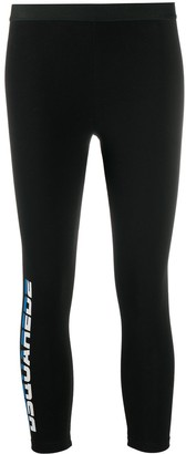 DSQUARED2 Retro Logo Leggings