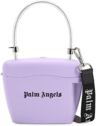 Palm Angels Logo Printed Top Handle Bag