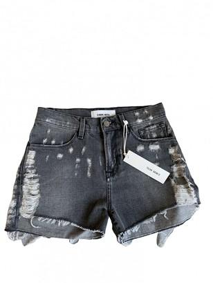 Circus Hotel Grey Denim - Jeans Shorts
