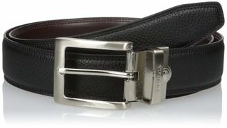 Nautica mens Leather Reversible Belt
