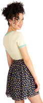 Whimsy is Coming Skirt in Navy