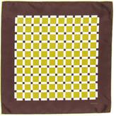 Tom Ford Silk Square Print Pocket Square