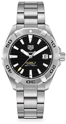 Tag Heuer Aquaracer 41MM Stainless Steel Automatic Bracelet Watch