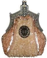 ILISHOP Women's Vintage Parth Clutch Victorian Brooch Beaded Clasp Evening Handbag