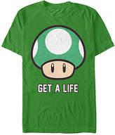 Fifth Sun Kelly Green Super Mario 'Get a Life' Tee - Men's Regular