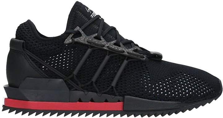 Y-3 Harrigane Black Fabric Sneakers