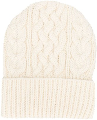 P.A.R.O.S.H. Cable-Knit Beanie