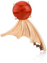 Fly London Selda Jewellery Away Coral Earring Single