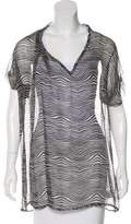 Pierre Balmain Oversize Silk Tunic