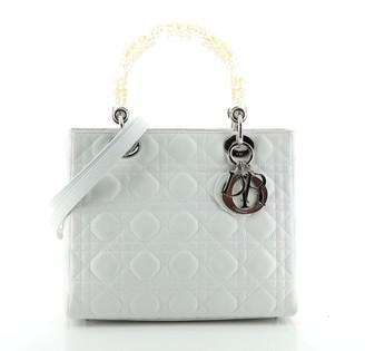 Christian Dior Lady Bag Cannage Quilt Lambskin Medium