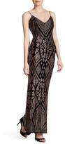 Jump Natalie Glitter Print Gown