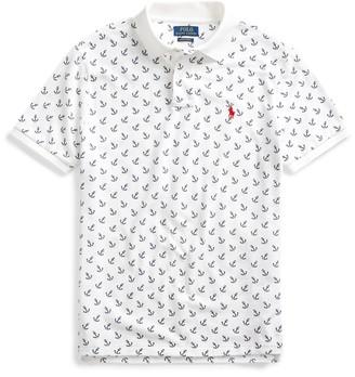 Ralph Lauren Custom Slim Fit Anchor Polo