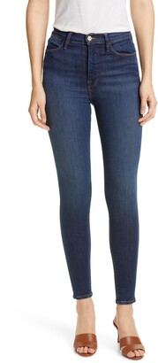 Frame Ali High Waist Skinny Cigarette Jeans