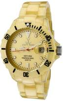Toy Watch ToyWatch Women's Plasteramic Pearlized Yellow Gold Colour Quartz Watch FLP02GD