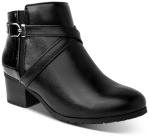 Karen Scott Francess Booties, Created for Macy's Women's Shoes