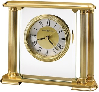 Howard Miller Athens Classic, Grecian, Architectural, and Transitional, Mantel Clock with Column Accents, Reloj del Estante